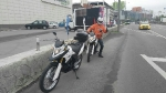 Обучение на мотоцикле в городском режиме с мотоинструктором_1