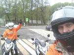 Обучение на мотоцикле в городском режиме с мотоинструктором_2