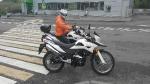 Обучение на мотоцикле в городском режиме с мотоинструктором_4