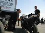 Участие мототакси 24 в кольцевых гонках