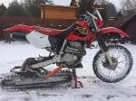 Гусеничные комплекты - сноубайк - модуль на мотоцикл_2